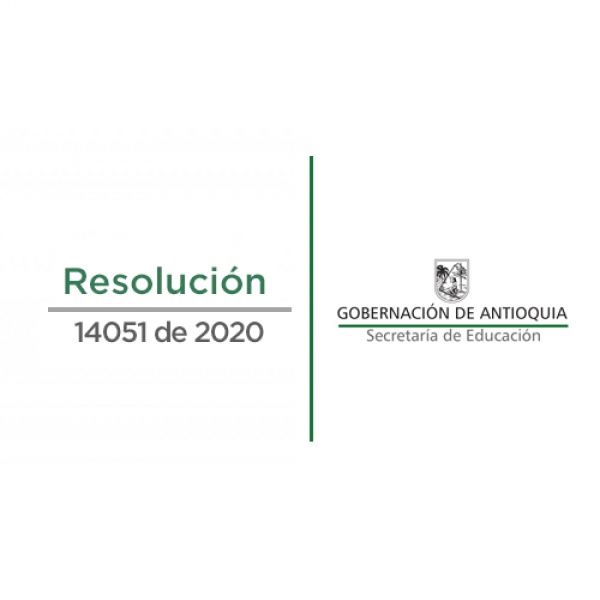 Resolución No. 2020060114051 del 21/10/2020